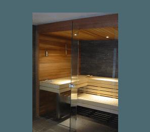 sauna Portcril Deluxe